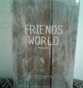 Туалетная вода Friends World For Him ( новая)