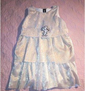 Детское платье 110/116