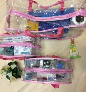 сумка в род дом для мамы и малыша