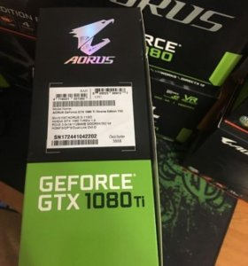 видеокарта AORUS GEFORCE GTX 1080TI