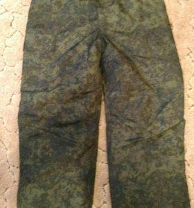 Новые брюки зимние, военные