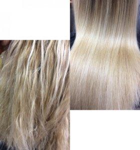 Восстановление блонда