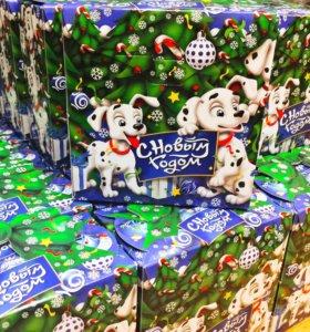 Вкусные новогодние конфетные подарки