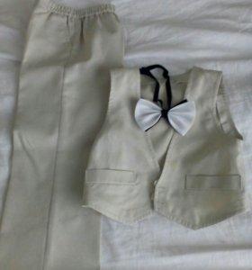 Костюмчик и рубашка на 2-3 г