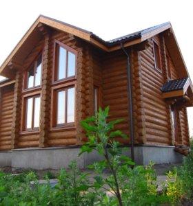 Деревянные дома бани от производителя под ключ.
