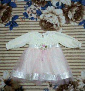 Красивое, пышное платье для малышки