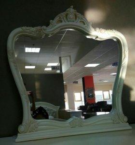 Кружевное зеркало в стиле барокко