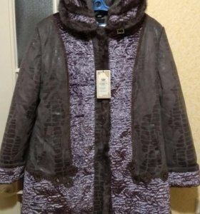 Зимнее пальто 56-58 размер
