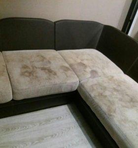Химчистка мебели и коврового покрытия
