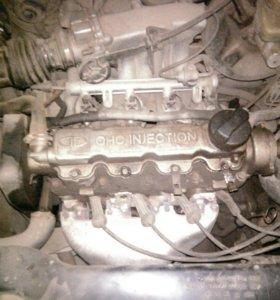 Двигатель Дэу Нексия 16кл.