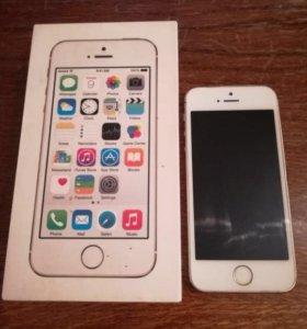 IPhone 5s 16GB Gold торг.обмен