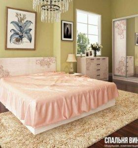 Кровать от спальни Винтаж новая
