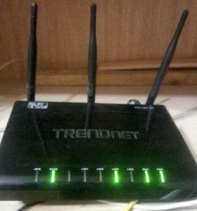 Гигабитный wifi роутер trendnet tew-691GR