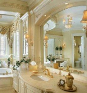 Мебель в ванную комнату.
