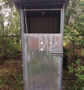 Туалет дачный