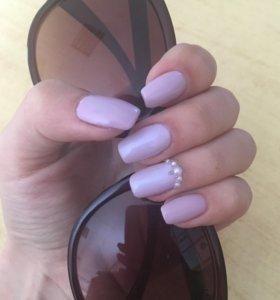 Покрытиеие ногтей шеллаком