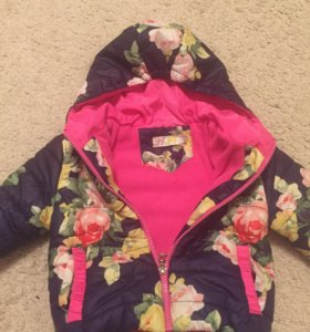 Детская куртка для девочки осень-весна