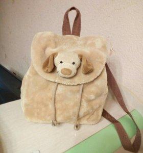 Детский рюкзак-собачка