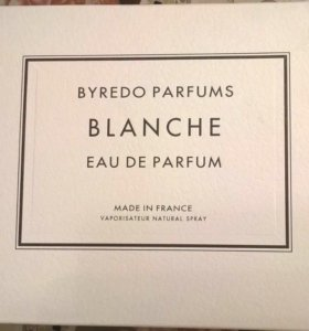 BYREDO PARFUMS BLANCHE 100 мл