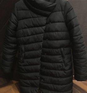 Теплое пальто(пуховик)