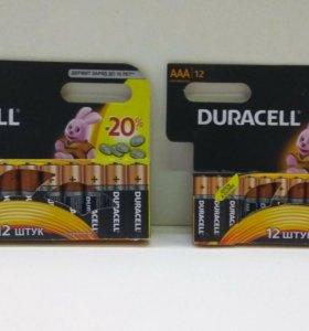Батарейки Duracell 12 шт