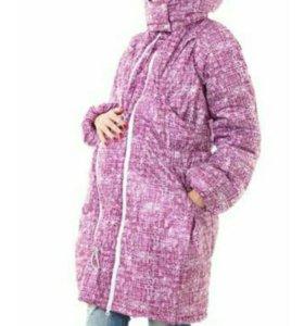 Демисезонная куртка для беременных и слингоношения