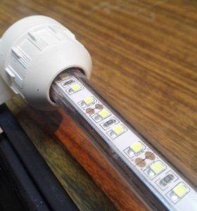 Яркая светодиодная лампа для аквариума
