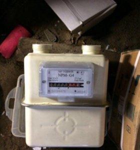 Счётчик газовый, бытовой(новый)