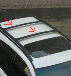 Рейлинги поперечные на Lexus RX/Toyota Harrier