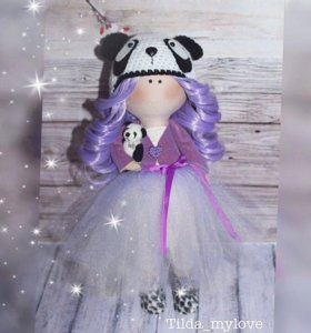 Текстильная, интерьерная, портретная кукла