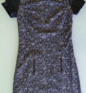 Темно-серое платье INCITY