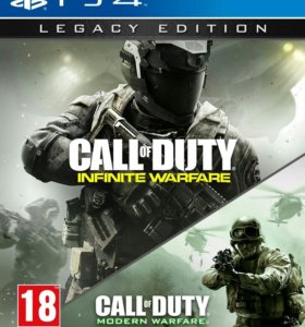 Call of duty infinite warfare and modern warfare