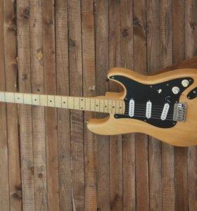 Деревянная подставка для гитары