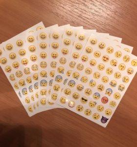 Emoji 😍😈❤️ стикеры / наклейки
