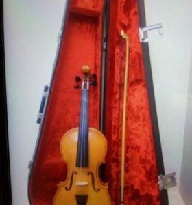 Смычковый инструмент Скрипка.