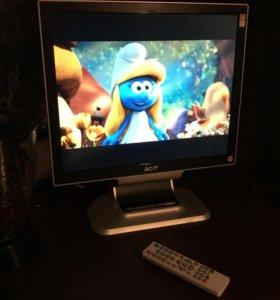"👑 Телевизор Acer 17"", мультимедийный, DVB T T2"
