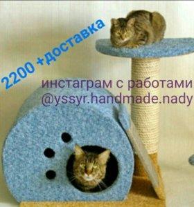 Домик для котенка