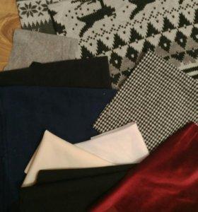 Трикотажные ткани для одежды куклам или пэчворка