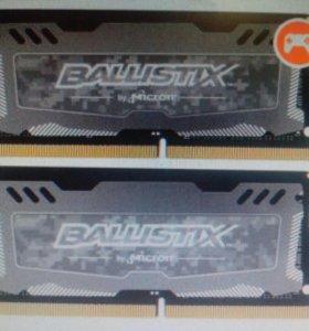 SODIMM DDR4 2x4 Ballistix Sport