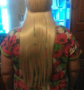 Волосы женский секрет на леске