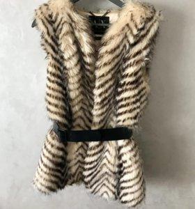 Меховая куртка Armani exchange