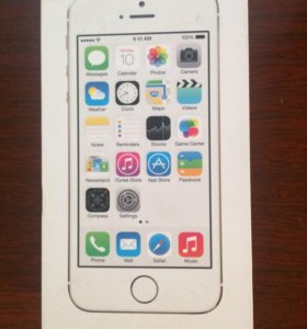 iPhone 5s 16g gold