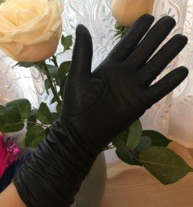 Новые перчатки кожа