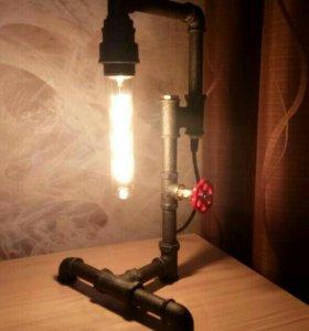 Светильник в стиле лофт
