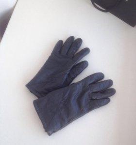 Перчатки Кожа 6,5