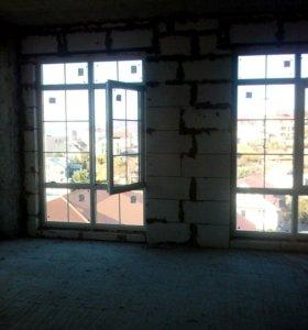 Квартира, свободная планировка, 25 м²