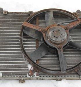 Радиатор на Волгу 3110-31105 отопитель панель