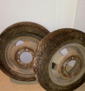 2 колеса Газель
