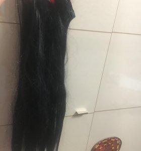 Волосы на заколках 65см