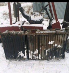 Блок радиаторов на Белаз